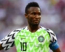 extra time: john obi mikel's 2018 world cup jersey added to fifa museum