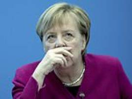 angela merkel 'will quit as german chancellor when her current term ends in 2021'