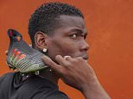 paul pogba stars in adidas shoot to launch latest footwear... but fans need £300 to own one item