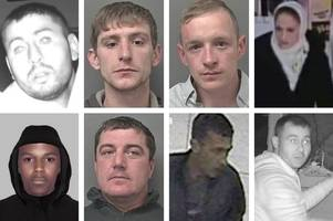 hull's most wanted: the eight people humberside police are desperate to find