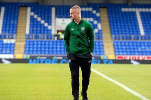brendan rodgers in the dark over celtic striker leigh griffiths' immediate future