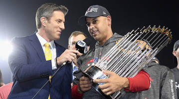 red sox manager alex cora wants to take world series trophy to puerto rico after win