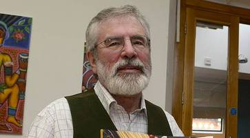 gerry adams turns chef to boost sinn fein coffers with the negotiator's cookbook