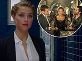amber heard's new film london fields is savaged by critics