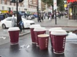 chancellor announces new tax non-recycled plastic but avoids 'latte levy' on disposable coffee cups