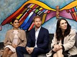 powerful earthquake shakes new zealand during prince harry and meghan markle's royal visit