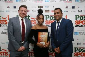 taeja james dreaming of the olympics after winning young sportsperson of the year award
