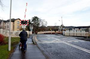 vehicle smashes into level crossing causing rail disruption across scotland