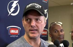 jon cooper on seeing a thriving brian boyle, facing the devils