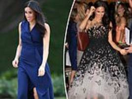 meghan's £118k royal tour wardrobe!