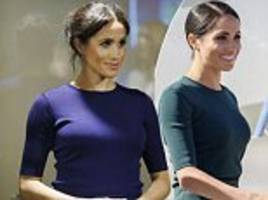 meghan markle wears second bespoke givenchy sweater  for visit to rainbow springs