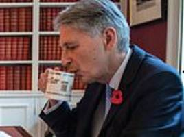 will philip hammond be felled by curse of the cabinet mugs?