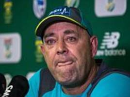 Ex-Australia coach Lehmann reveals counselling after ball-tampering