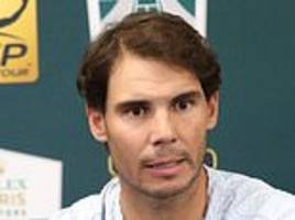 rafael nadal withdraws from rolex paris masters with stomach injury