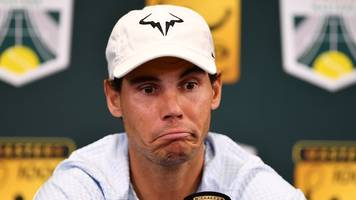 paris masters: rafael nadal out with injury & roger federer through
