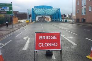 north bridge re-opening has been delayed as council blame 'recent cold conditions'