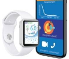 stimwave receives fda clearance for world's only opioid free pain management wireless system iphone-iwatch controllers