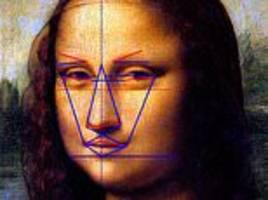 mona lisa loses points for her 'manly' face and double chin, according to the ancient greeks