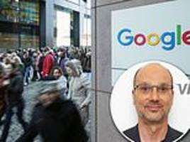 google walkout over disgraced executives is today