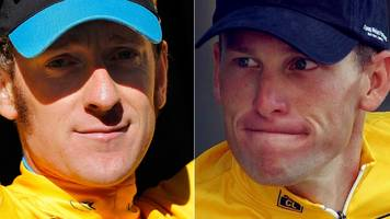 sir bradley wiggins: why lance armstrong is still an icon to me