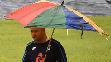 sri lanka v england: first day of tourists' final warm-up match washed out