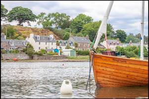 charming seaside home in scots village where cult classic the wicker man was filmed goes on sale