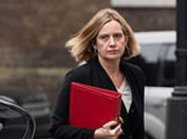 amber rudd 'was failed by her civil servants who gave her wrong information over windrush scandal'