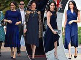 Meghan Markle keeps wearing navy - as it shows her 'professionalism'