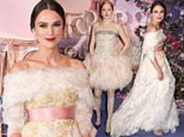 keira knightley and ellie bamber dazzle at the nutcracker and the four realms screening