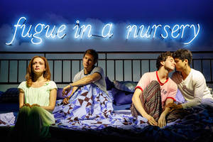 'torch song' theater review: harvey fierstein passes it to michael urie