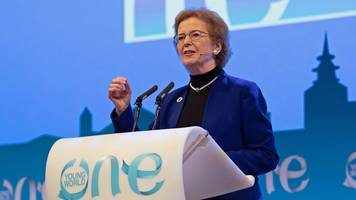 mary robinson appointed chair of the elders