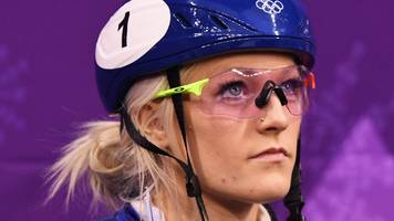 elise christie: winter olympian ready for world cup return