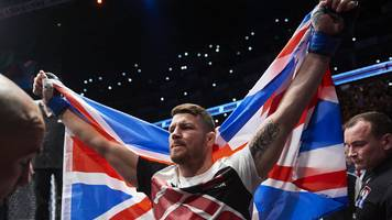 ufc set to return to london's o2 arena on 16 march 2019