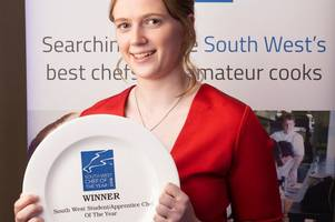 student chef sophie cooking up a storm with prestigious award