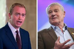 support for 'hero' paddy ashdown from tim farron and other friends and colleagues