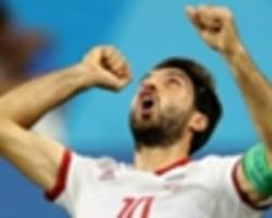 iran star karim ansarifard joins nottingham forest