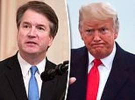 trump calls brett kavanaugh accuser 'vicious for disgusting sex claims, where are the dems on this?'