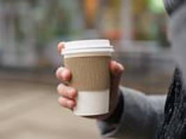 sales of disposable coffee cups surge by a million