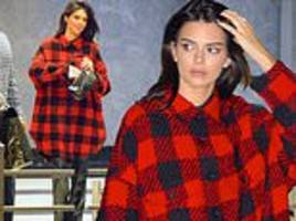 kendall jenner steps out for fitting at victoria's secret hq after being confirmed for fashion show