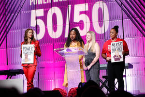 teen march for our lives activists honored at thewrap's power women's summit: 'conversation builds bridges'