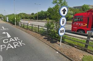 pedestrian killed on m5: why was a man in his late 50s in the carriageway around 2am?