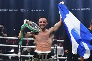 josh taylor produces flawless display to destroy ryan martin inside seven rounds