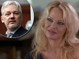 pamela anderson opens up about her relationship with julian assange