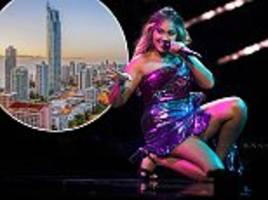 is eurovision coming down under? the next instalment could be held on australia's gold coast