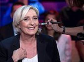 marine le pen's far-right party is now more popular than macron's