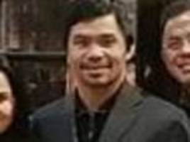 manny pacquiao arrives in london ahead of speeches at oxford and cambridge