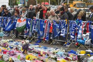 snooker star mark selby joins thousands of grieving fans at king power stadium after leicester helicopter crash