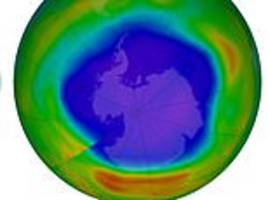ozone layer is healing: antarctic ozone hole is recovering at 1-3 percent per decade