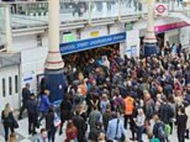 tube strike: piccadilly, central line workers stage walk out on wednesday