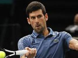 novak djokovic draws alexander zverev, marin cilic and john isner in the atp finals